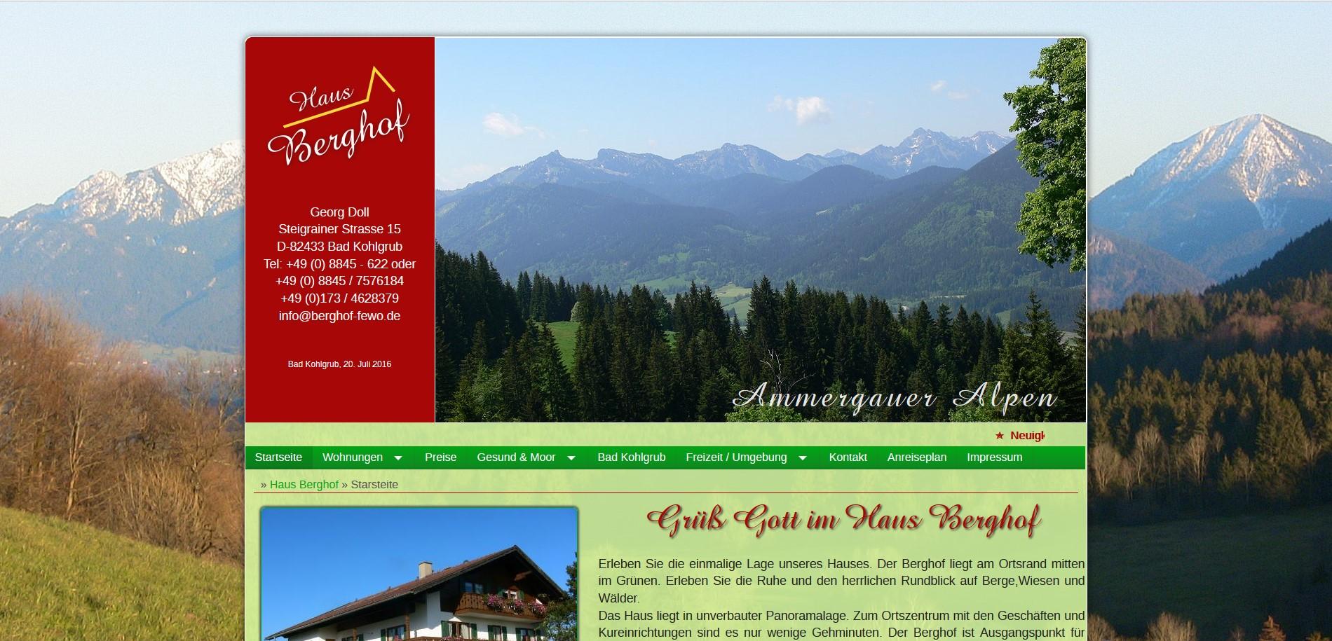 Berghof Fewo