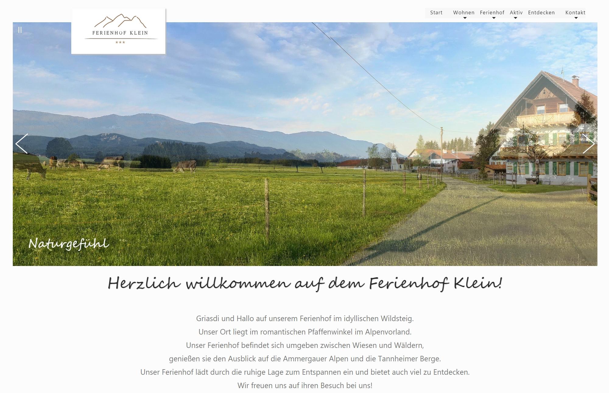 Ferienhof Brigitte Klein, Wildsteig