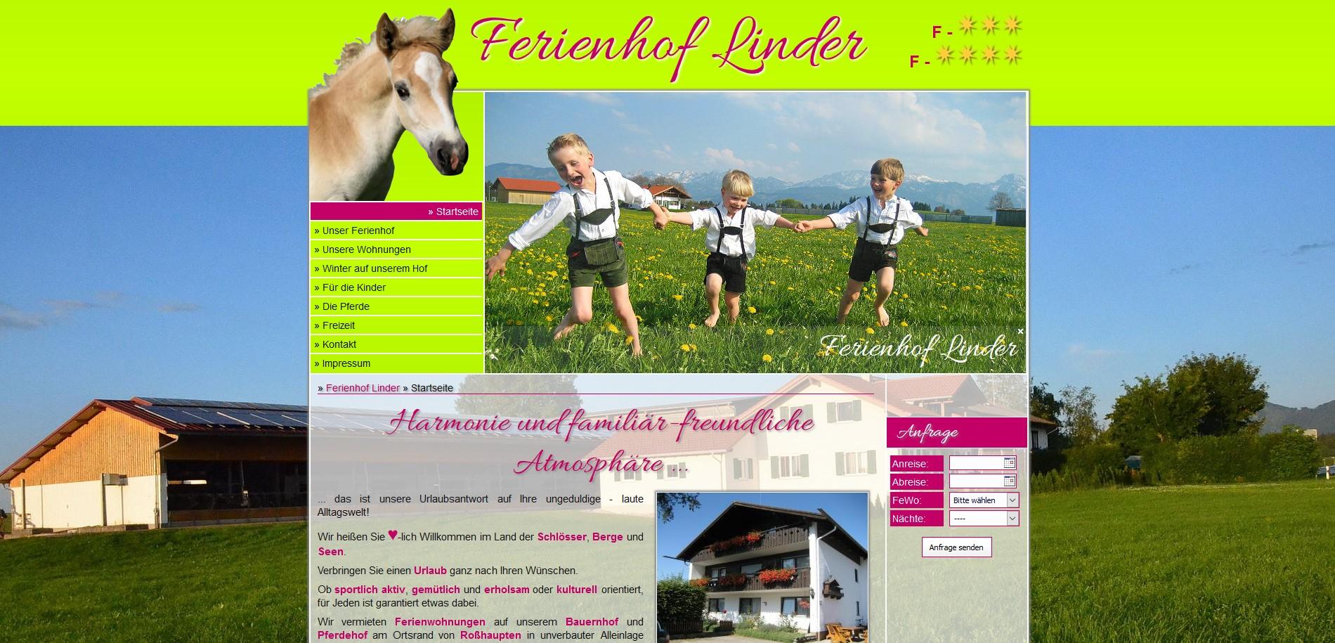 Ferienhof Linder, Roßhaupten