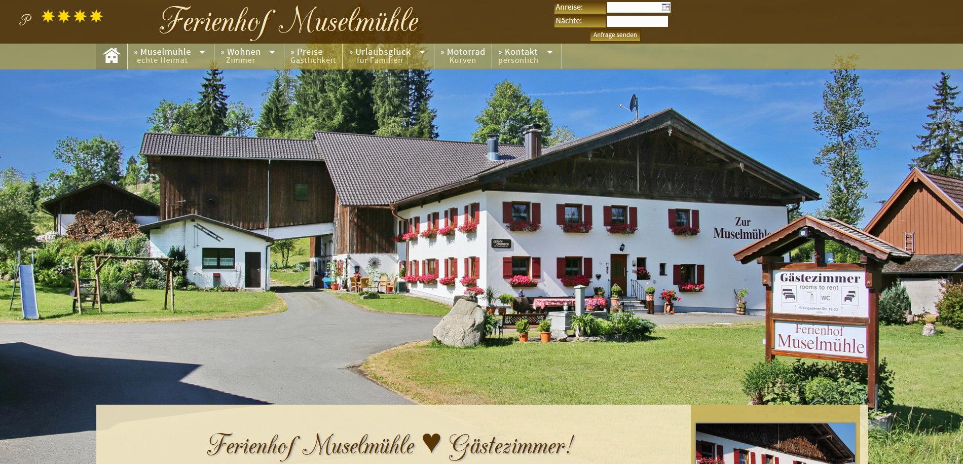 Ferienhof Muselmühle, Wildsteig