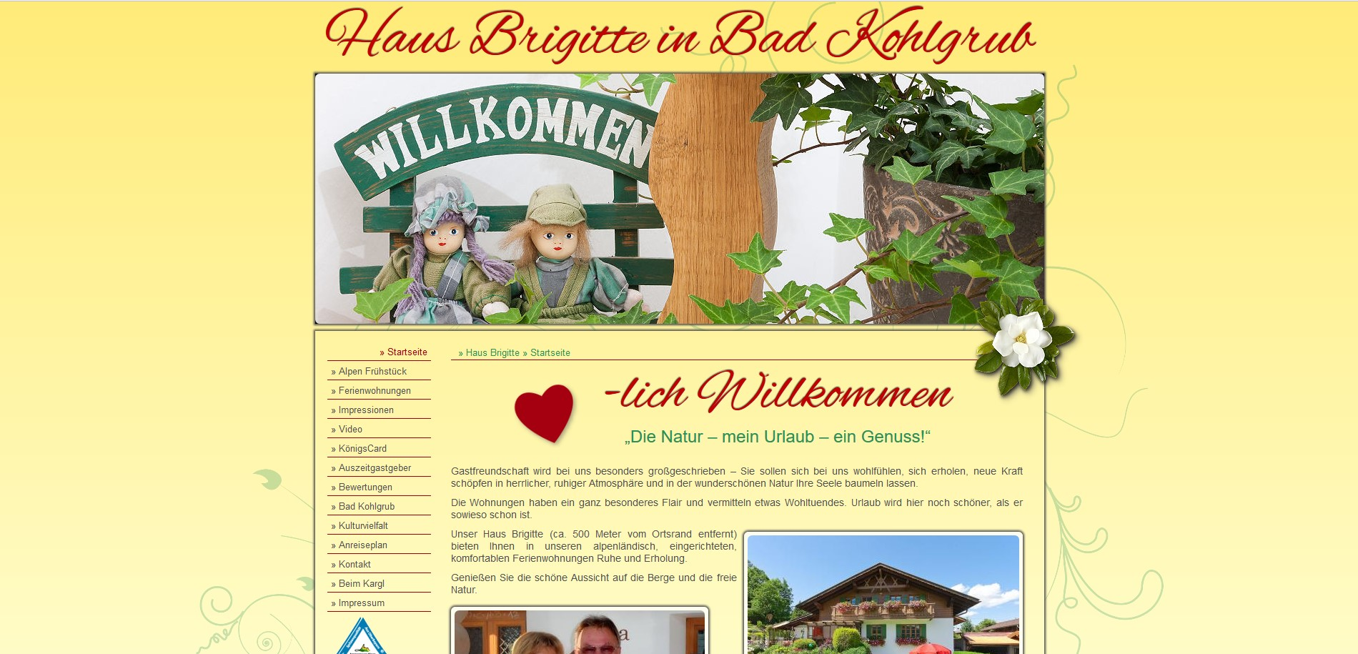 Ferienwohnung Haus Brigitte, Bad Kohlgrub