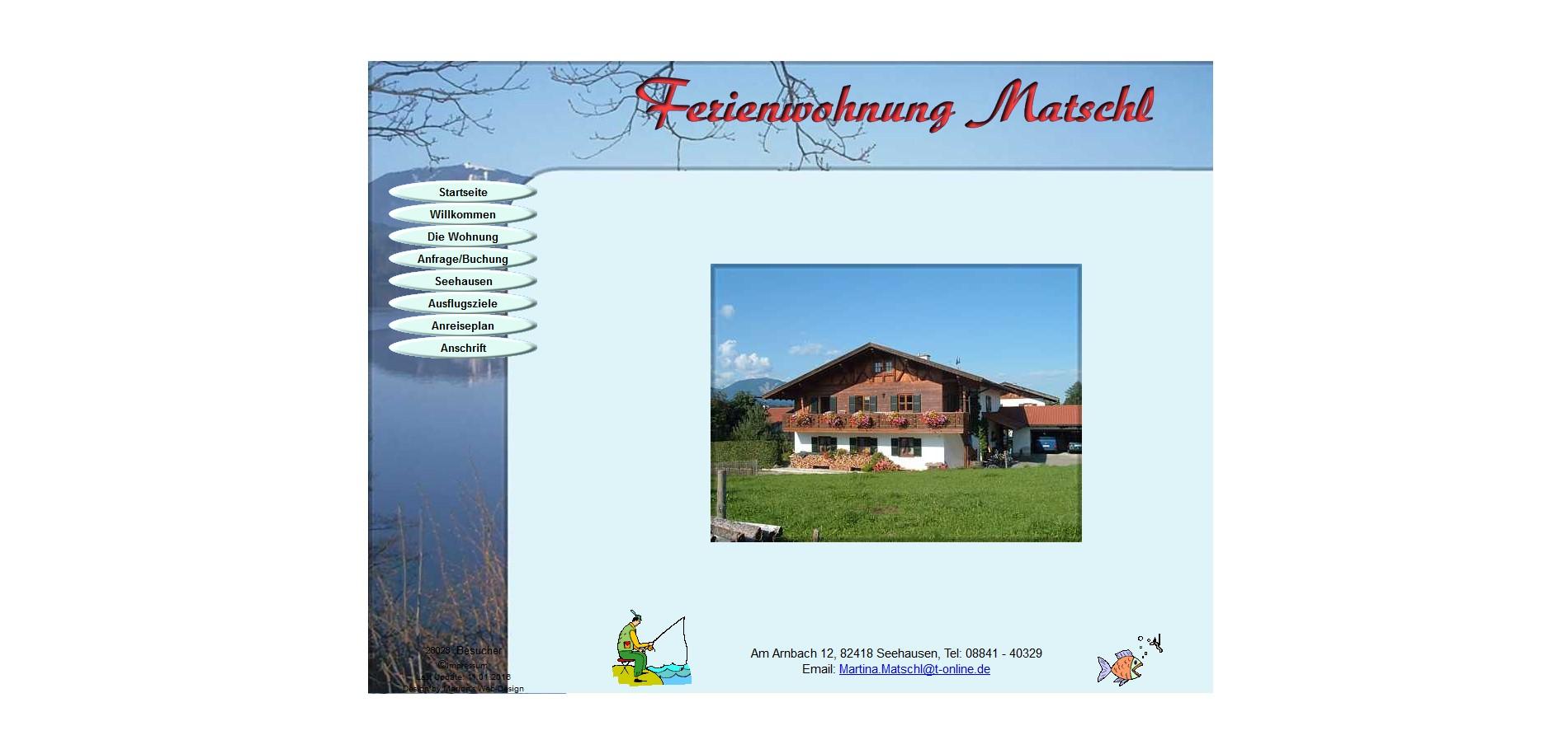 Ferienwohnung Staffelsee, Seehausen