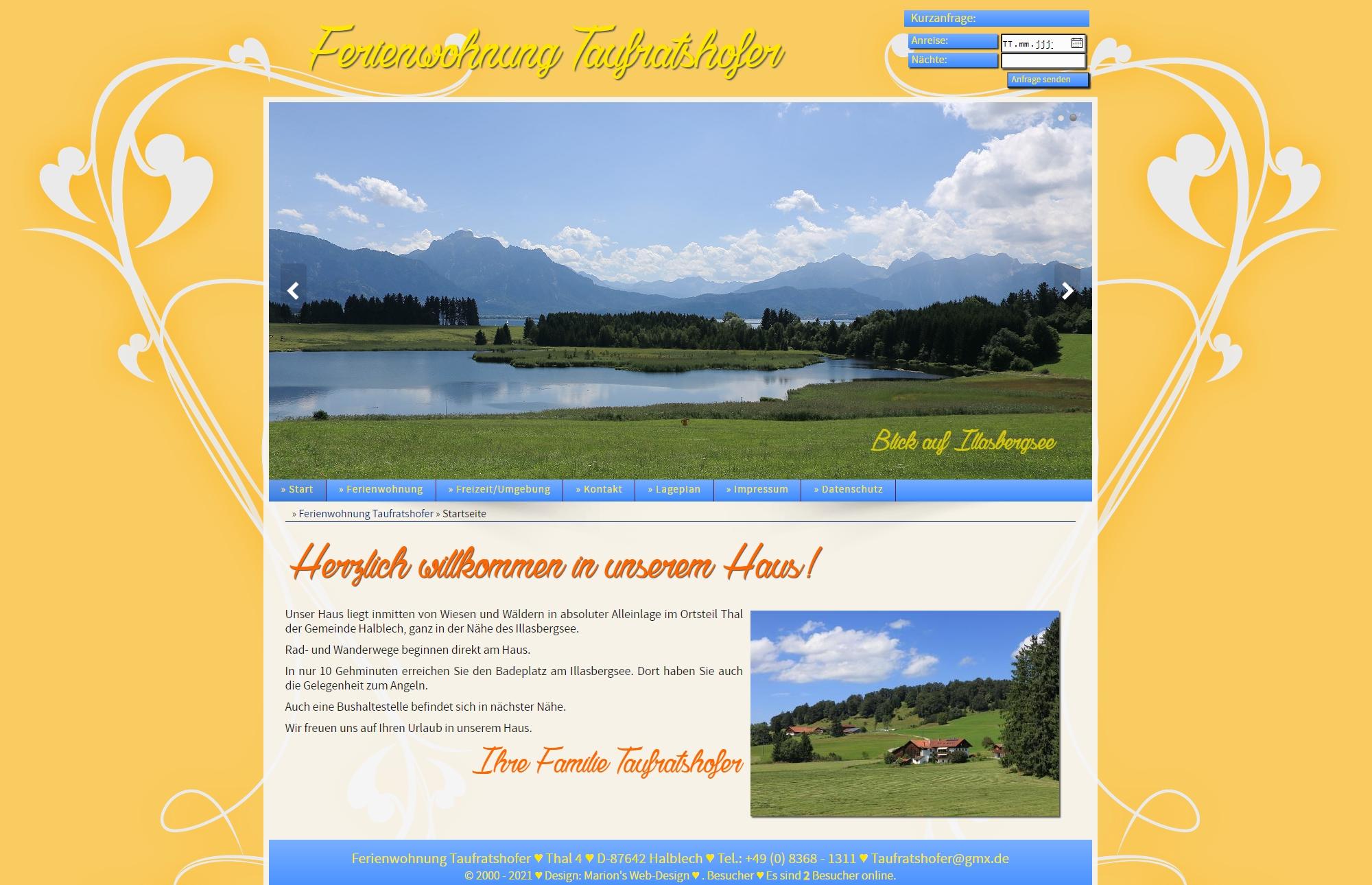 Ferienwohnung Taufratshofer