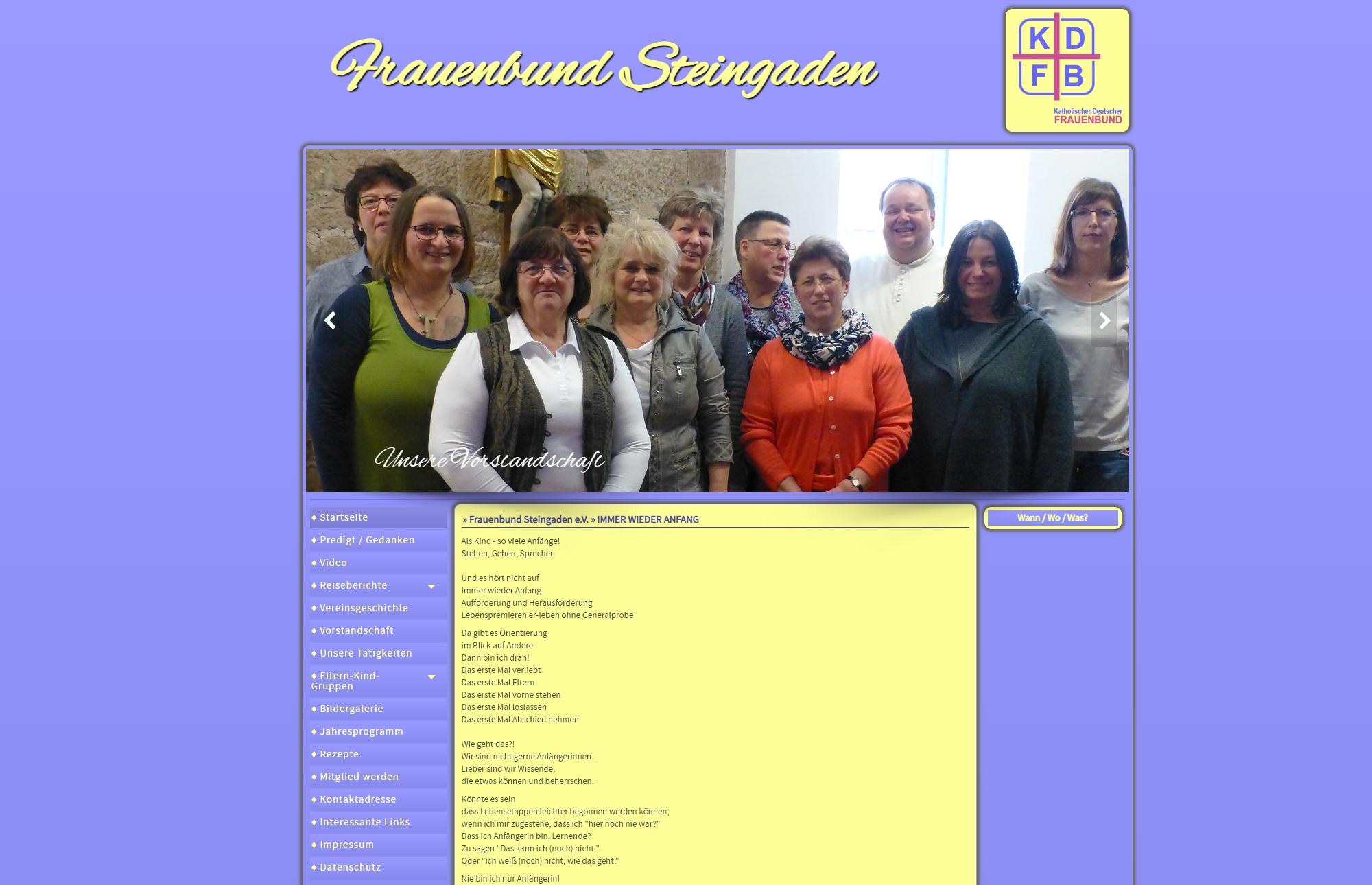 Frauenbund Steingaden