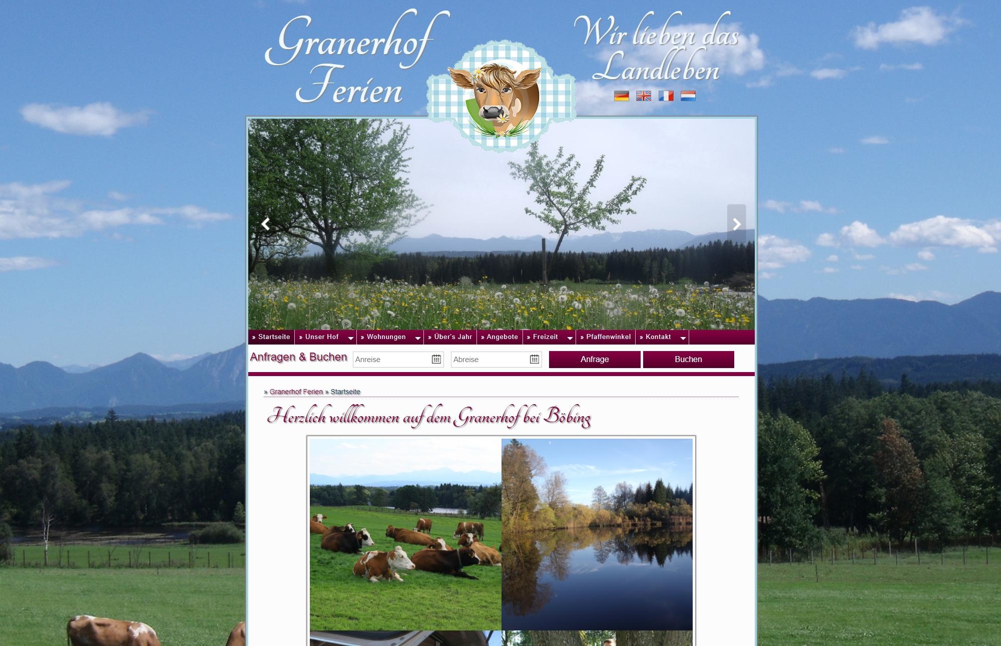 Granerhof Ferien aus Böbing