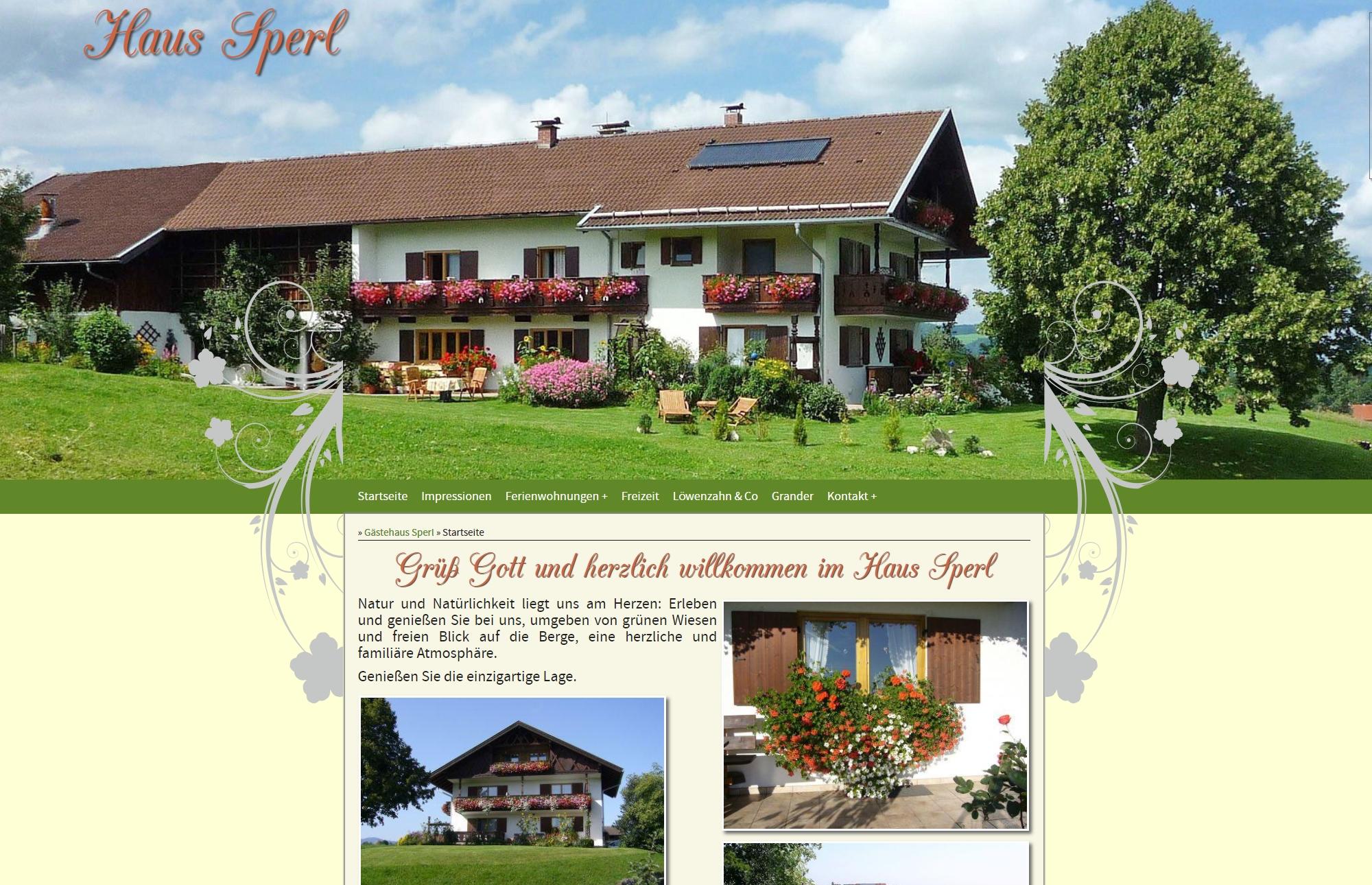 Gästehaus Sperl, Bad Kohlgrub
