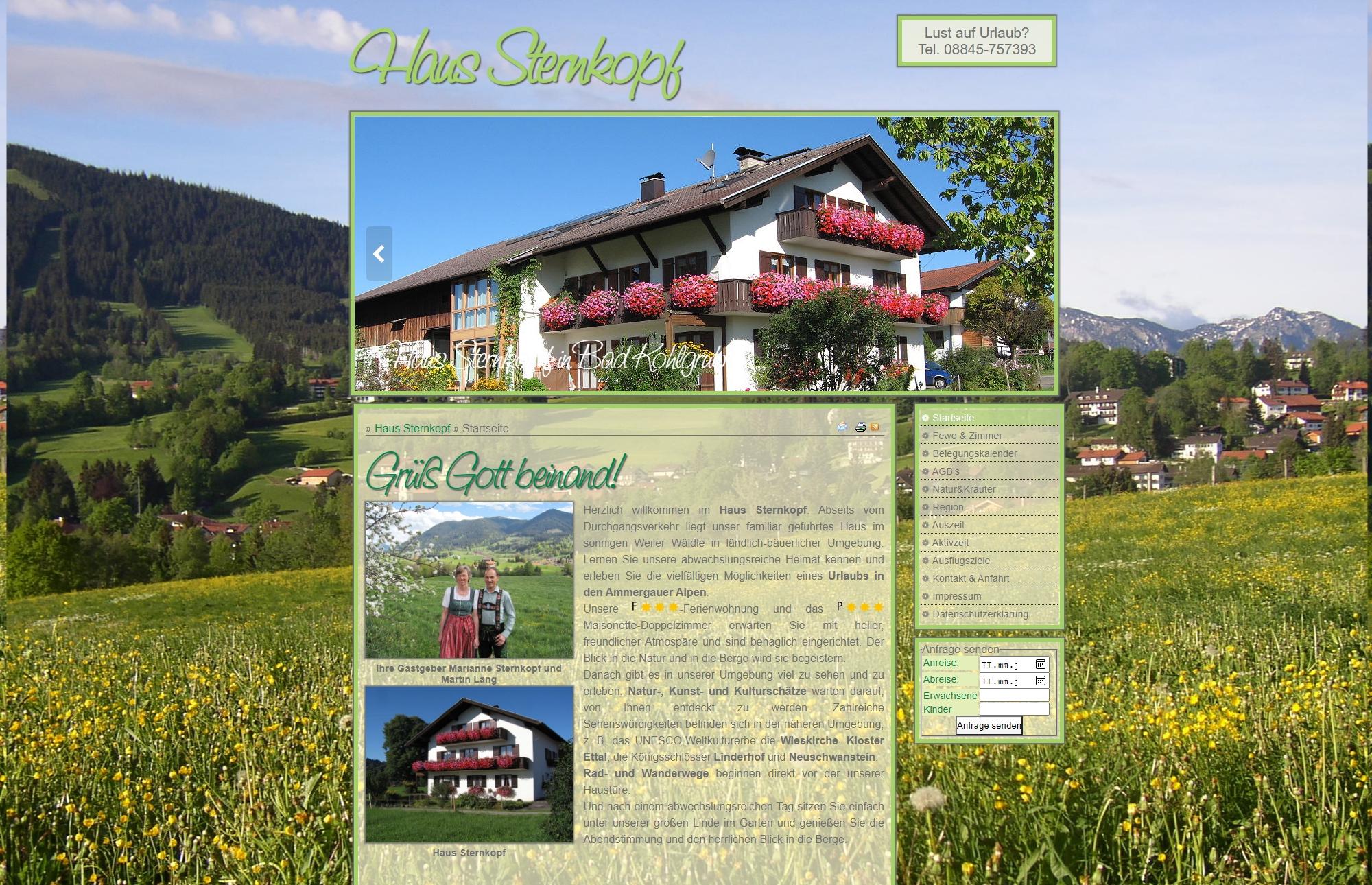 Haus Sternkopf, Bad Kohlgrub