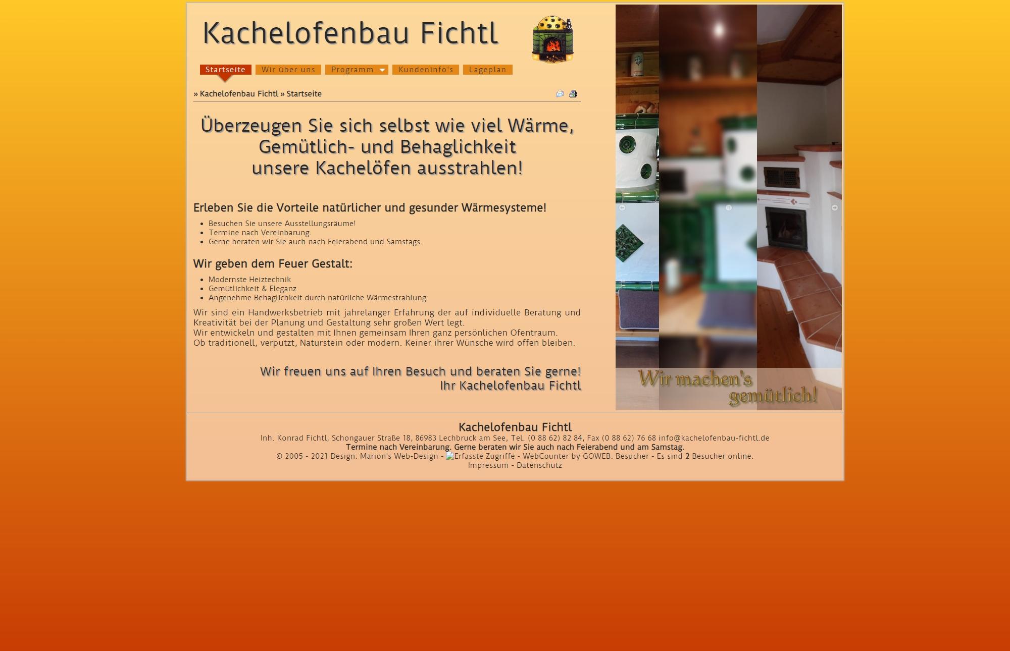 Kachelofenbau Fichtl, Lechbruck