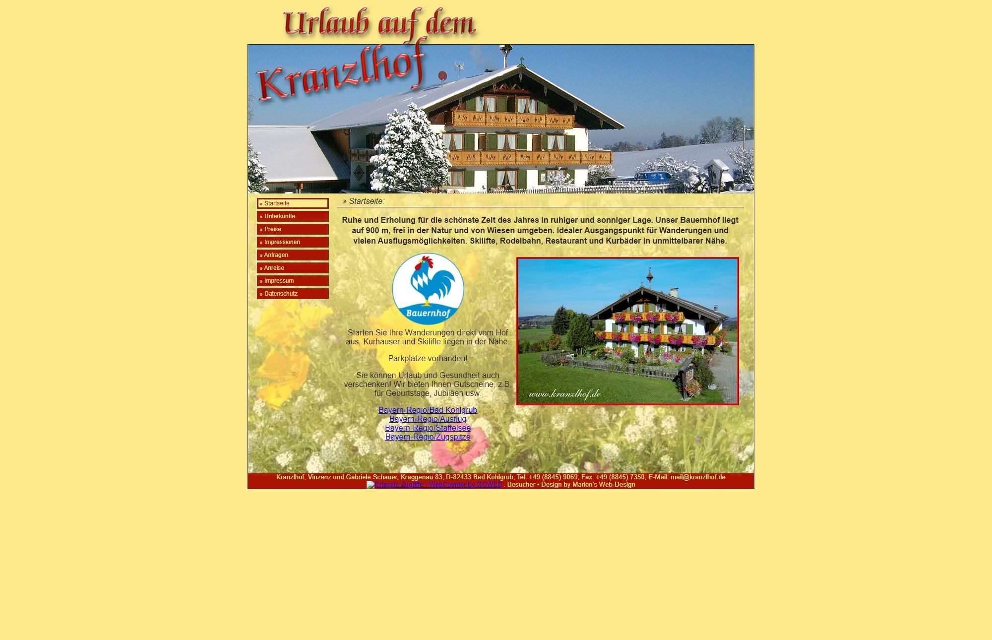 Kranzlhof, Bad Kohlgrub