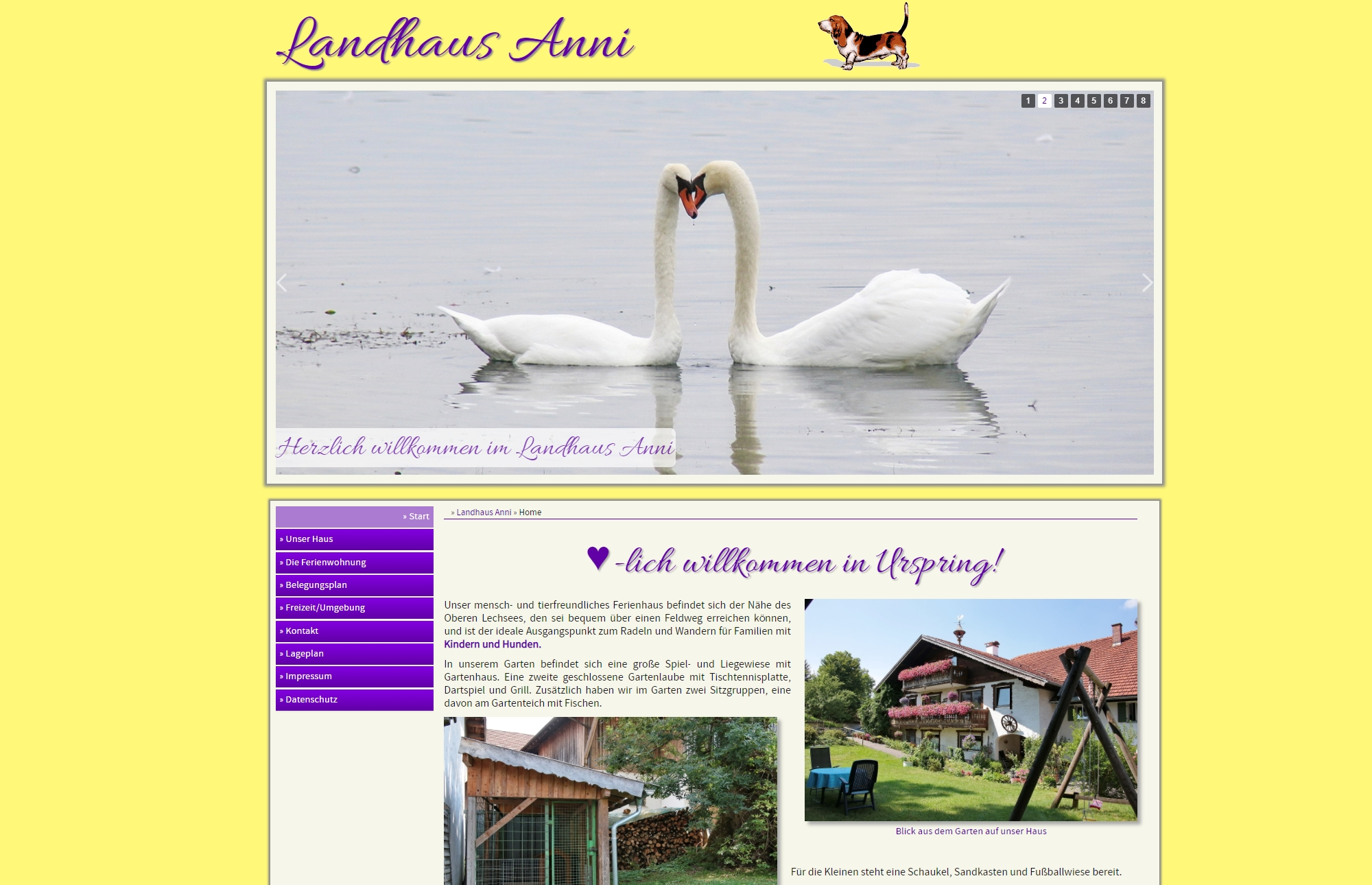 Landhaus Anni, Steingaden