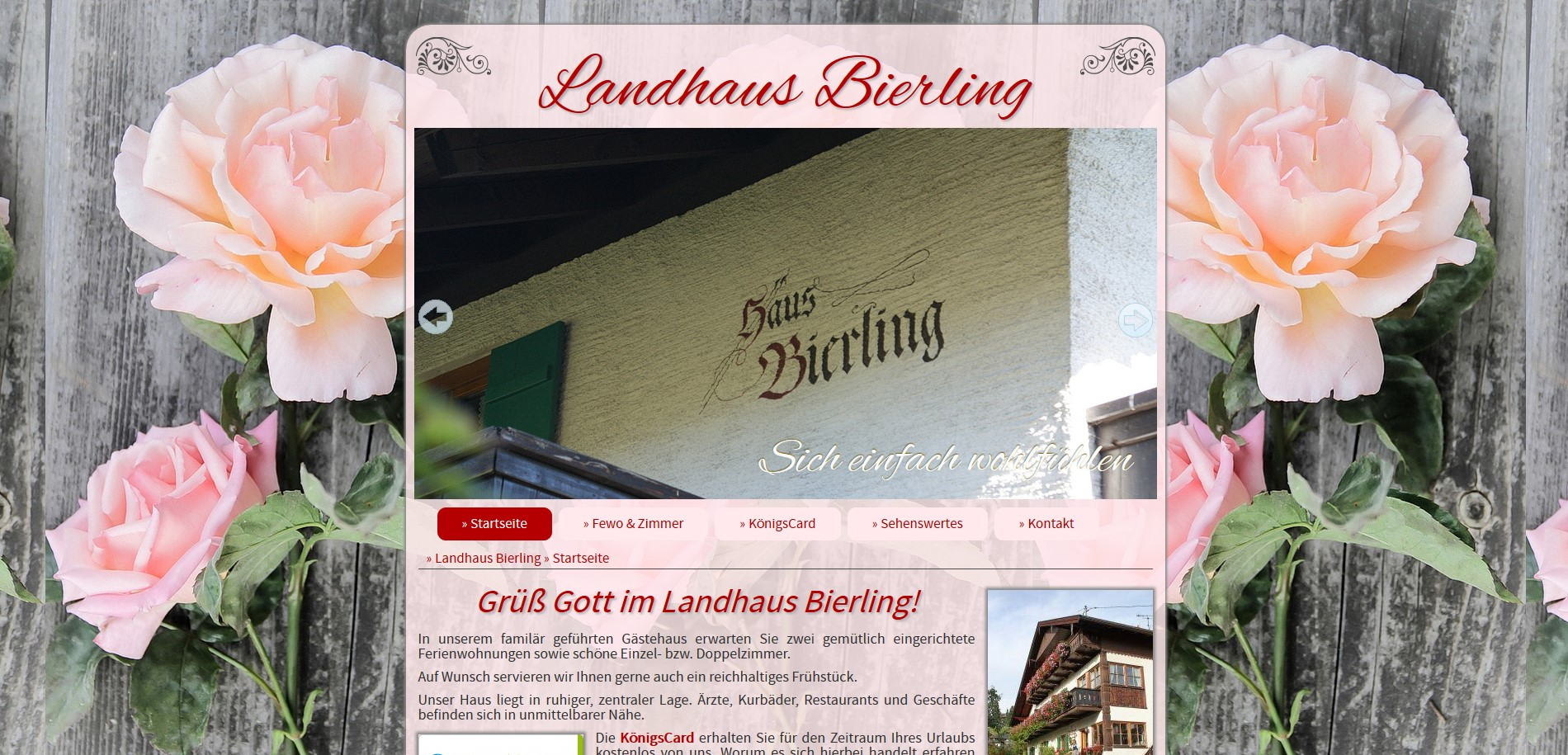 Landhaus Bierling, Bad Kohlgrub