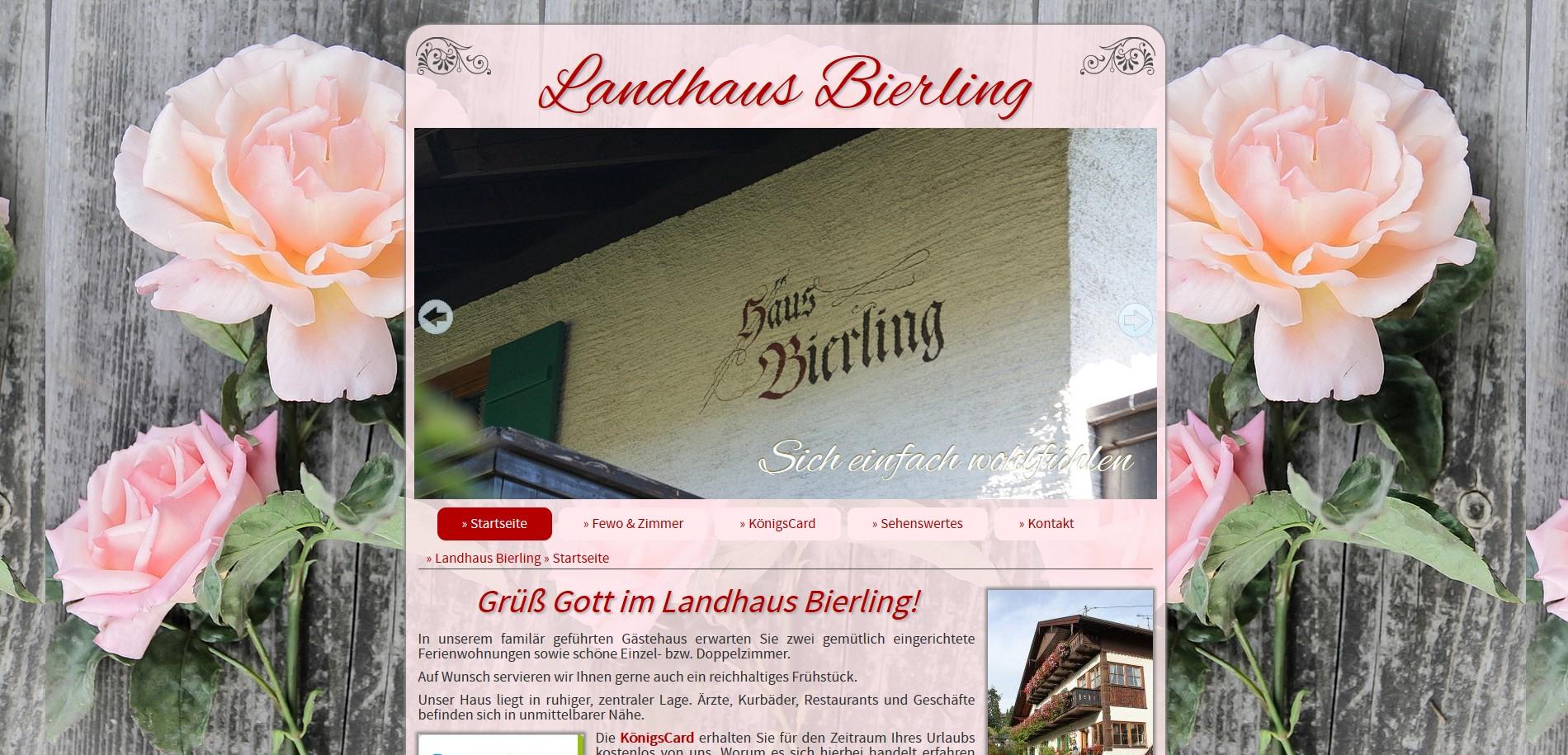 Landhaus Bierling, Bad Kohlgrub