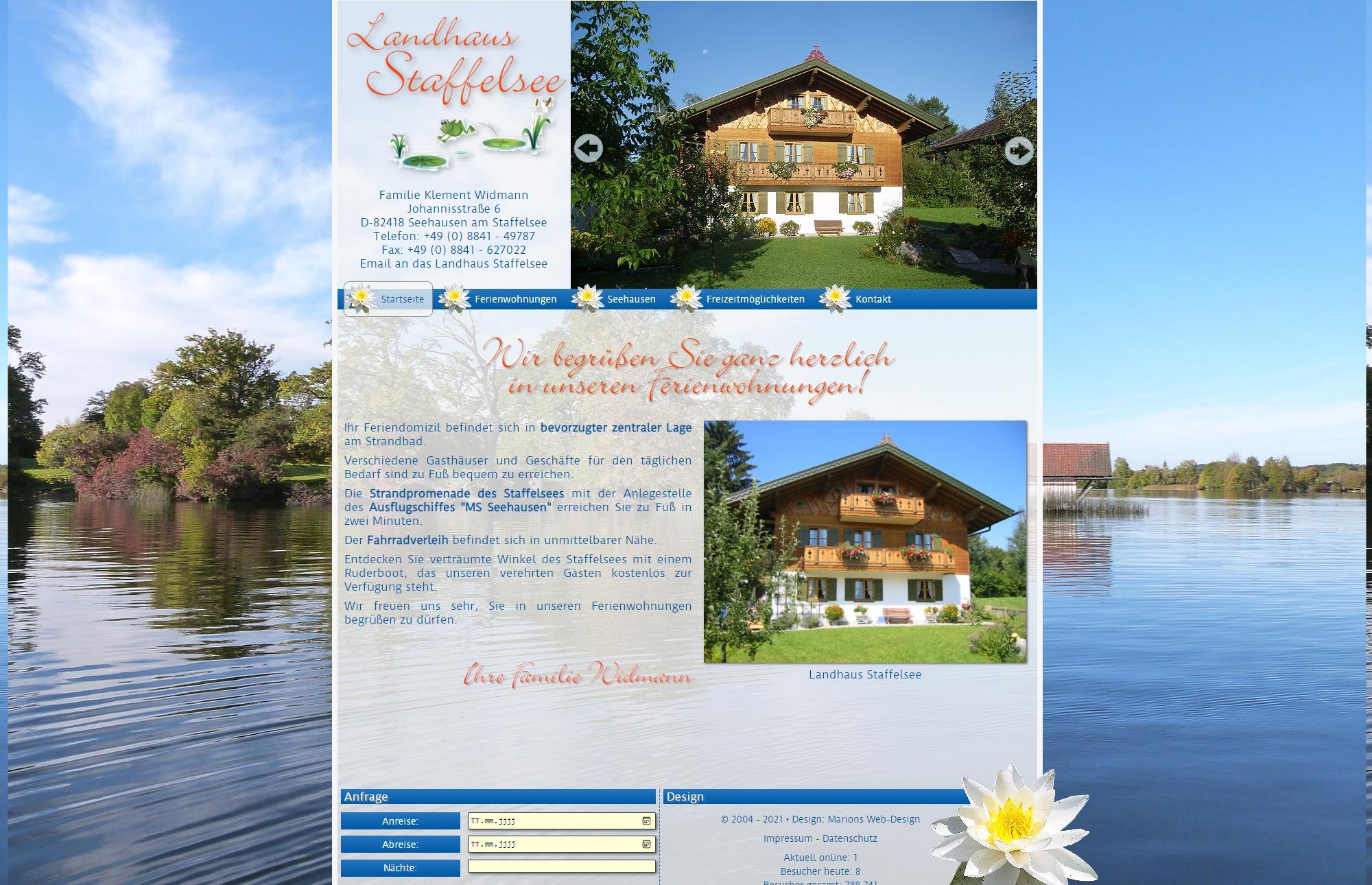 Landhaus Staffelsee, Seehausen