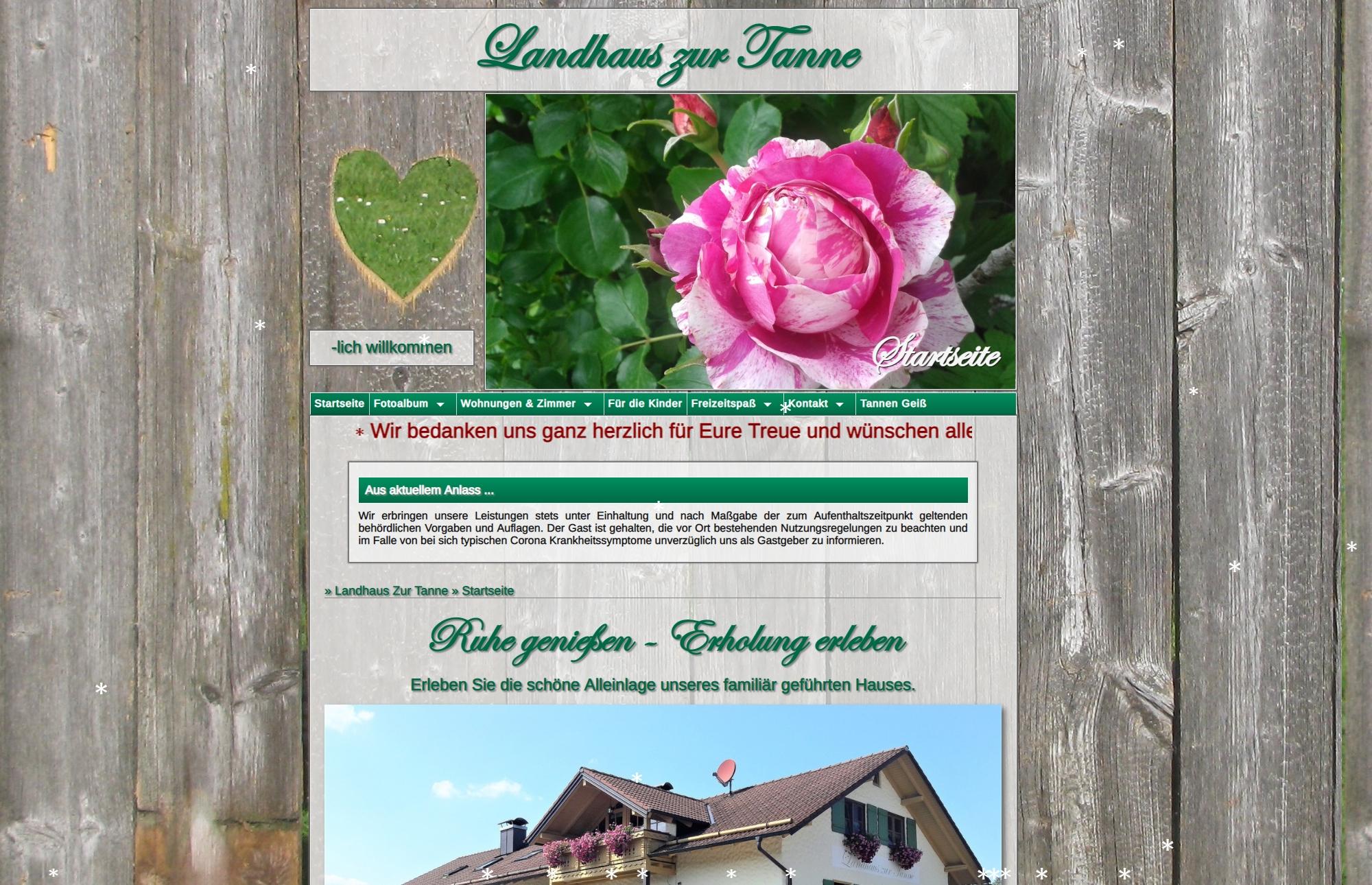Landhaus Zur Tanne - Peiting
