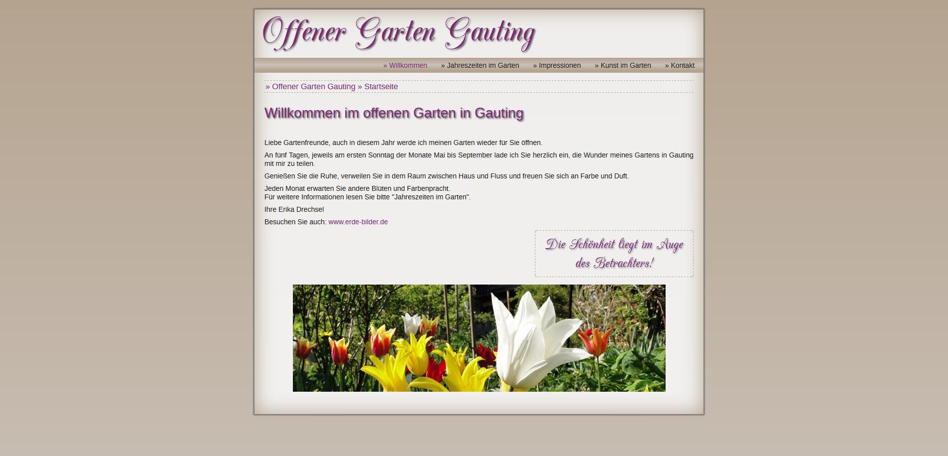 Offener Garten Gauting