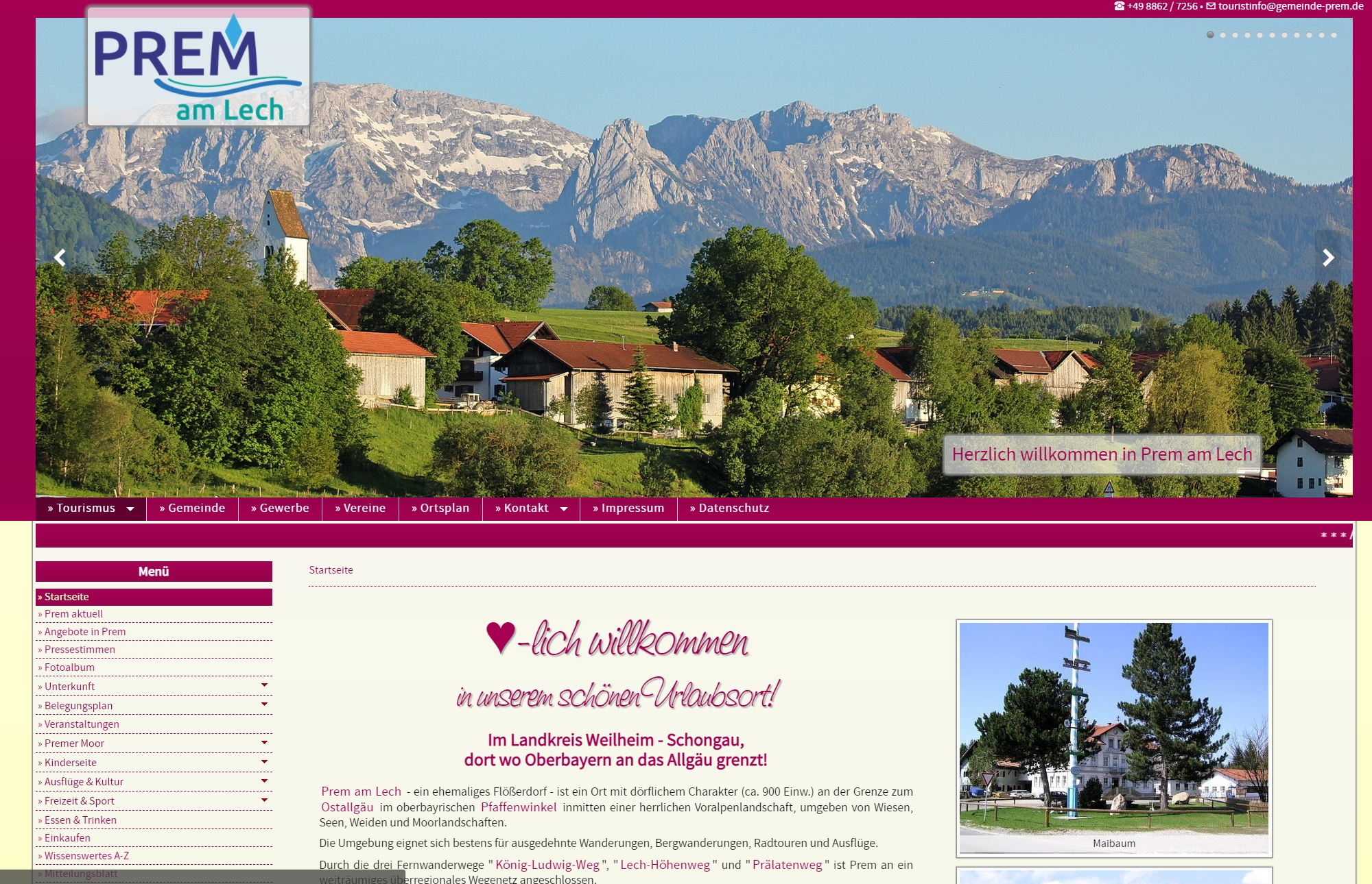 Tourist Info Prem am Lech