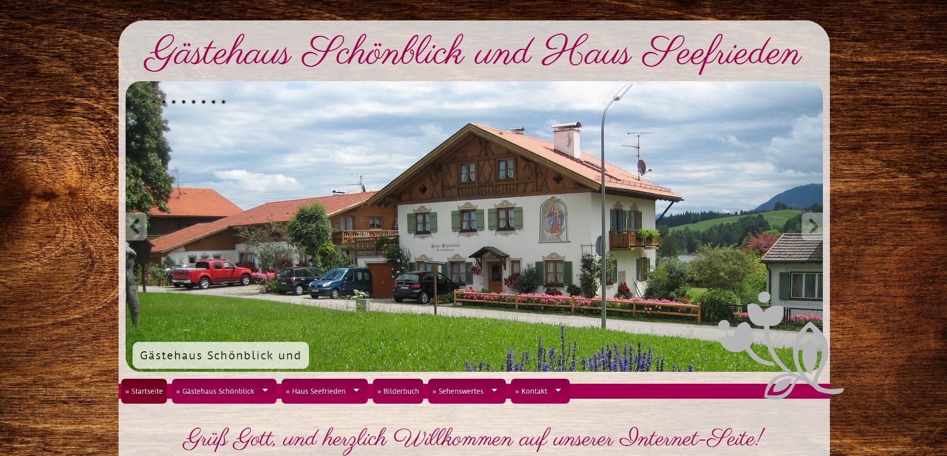 Gästehaus Schönblick und Haus Seeblick, Bad Bayersoien