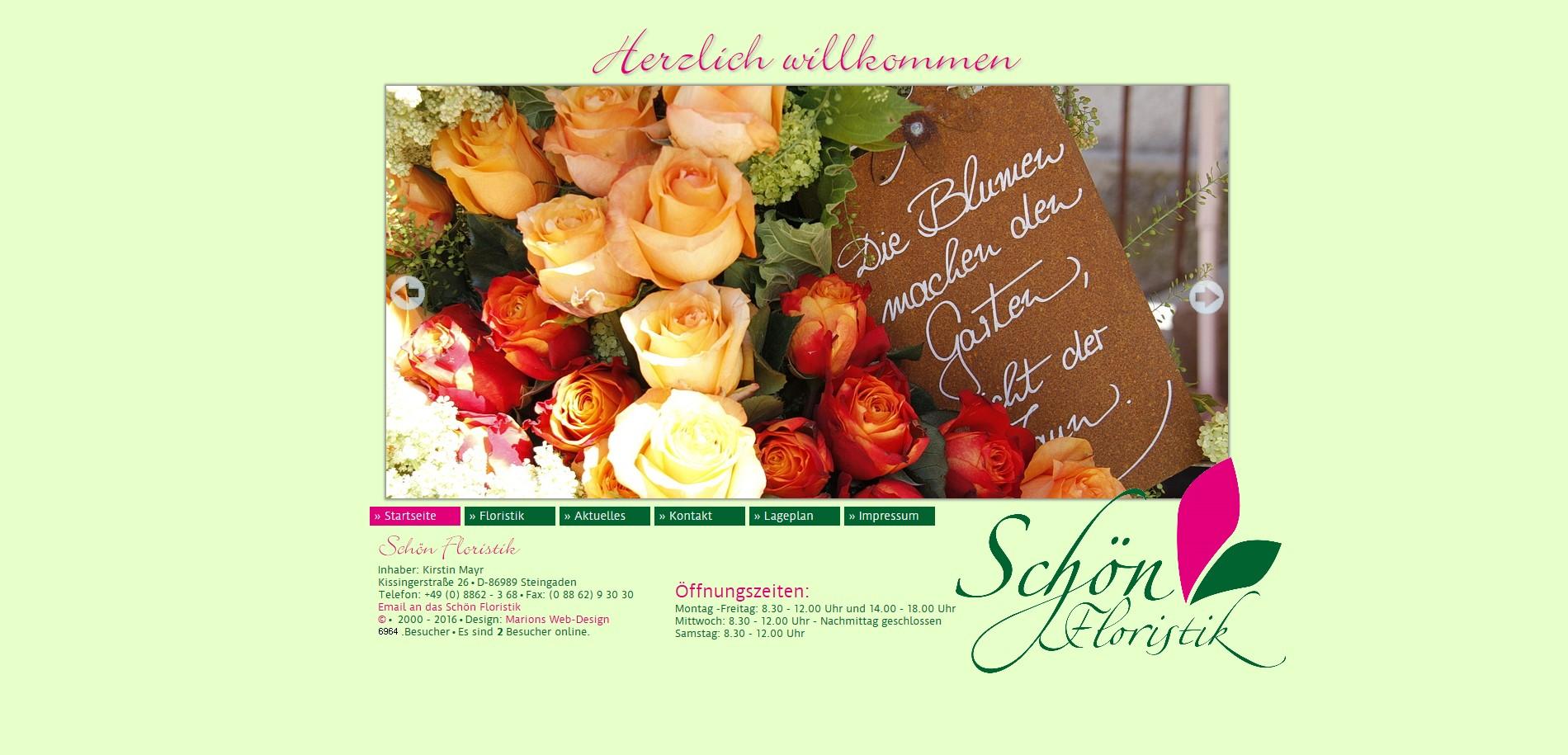 Schön Floristik aus Steingaden