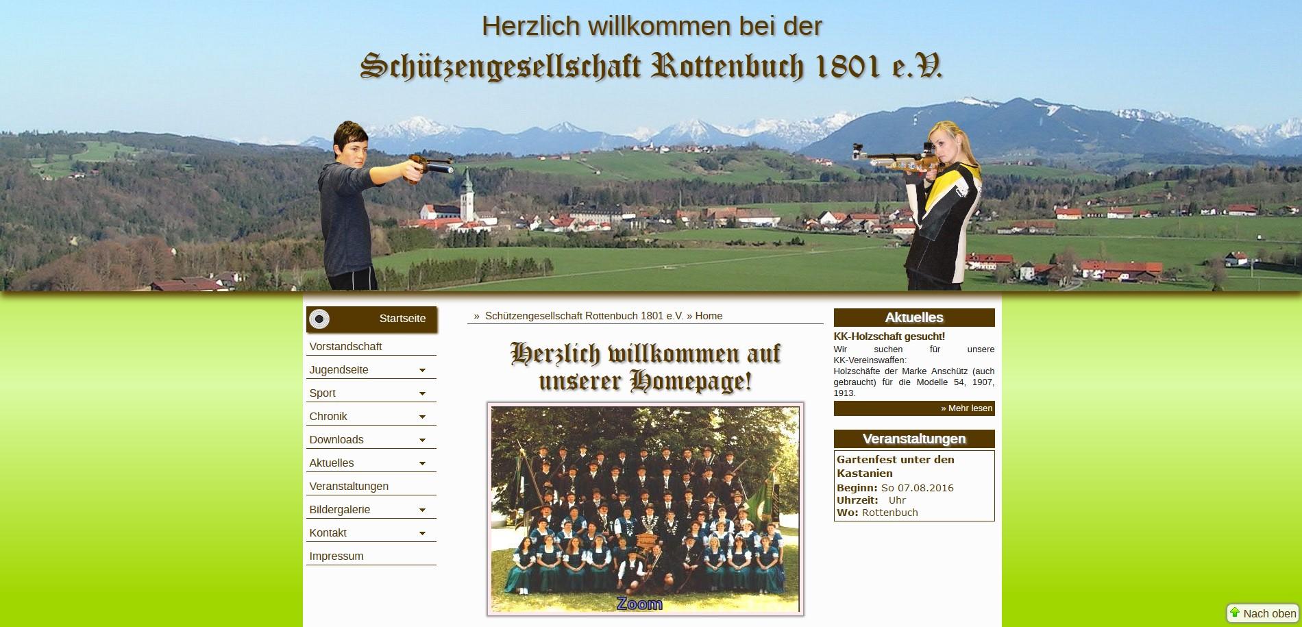 Schützengesellschaft Rottenbuch