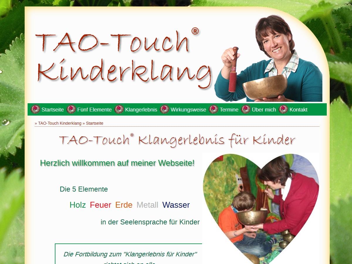 Tao Touch Kinderklang